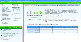 Origins Etomite dashboard