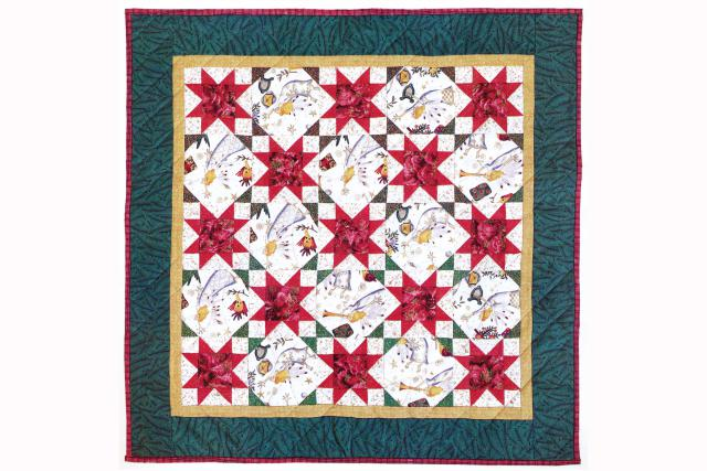 original Snowball and Stars quilt picture